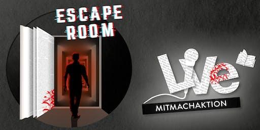 MITMACHAKTION: Escape Room- September bis Dezember