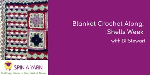 Blanket Crochet Along: Shells Week - with Di Stewart