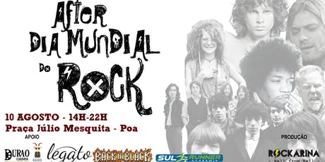 After dia Mundial do Rock tickets