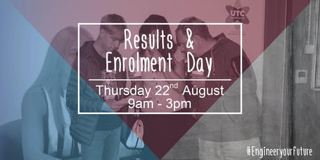 GCSE Results & Enrolment Day tickets