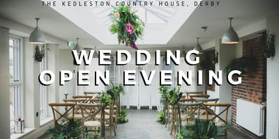 Wedding Open Evening at The Kedleston Country House