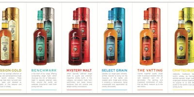 An Evening With Murray McDavid Indepedent Whisky Bottlers