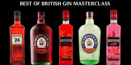British Gin Masterclass tickets