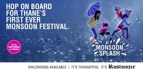Have a Hopping Good Time at The Monsoon Splash - Rustomjee Urbania tickets