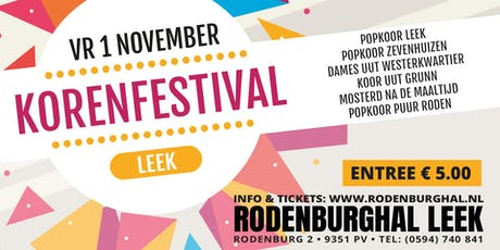 Korenfeest Leek tickets