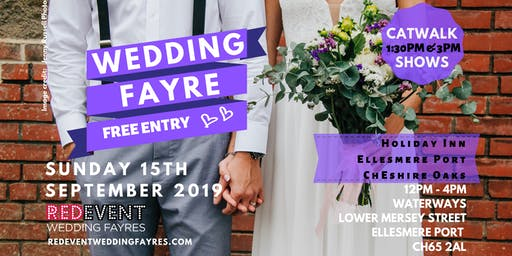 Wirral Wedding Fayre at The Holiday Inn Ellesmere Port / Cheshire Oaks