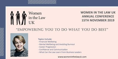 Women in the Law UK Annual Conference 2019 in Manchester UK