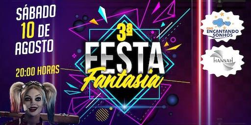 3ª Festa a Fantasia da ONG Encantando Sonhos