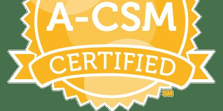 Advanced Certified ScrumMaster™ (A-CSM) Sydney, 15 - 16 August 2019 tickets