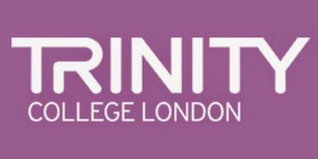 Trinity College London: Meet the Examiner; Understanding the Mark Scheme tickets