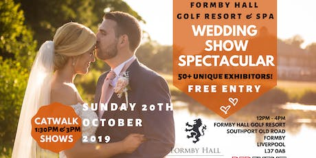 Liverpool Wedding Show Spectacular at Formby Hall Golf Resort & Spa, Southport tickets