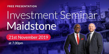 Maidstone Investment Seminar on Buy2LetCars tickets