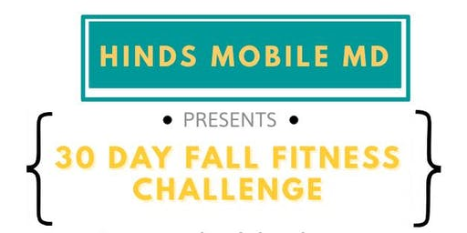30 Day Fall Fitness Challenge