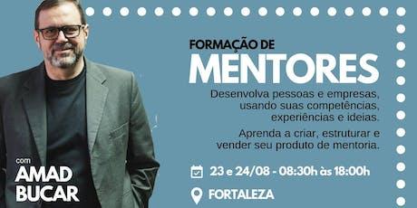 Formação de Mentores - 23 e 24 de Agosto em Fortaleza ingressos