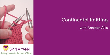 Continental Knitting - including Norwegian Purl - with Anniken Allis  tickets