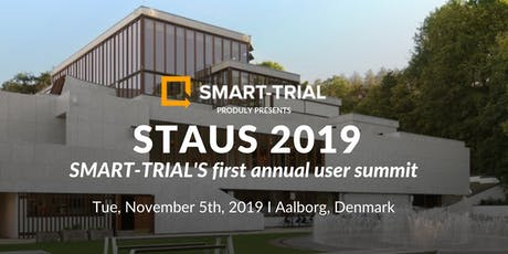 STAUS 2019 - SMART-TRIAL's Annual User Summit tickets