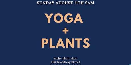 YOGA + PLANTS tickets