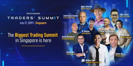 Investagrams Traders' Summit Singapore tickets