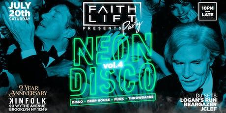 Neon Disco Volume 4  tickets