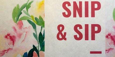 Snip & Sip 2019 tickets