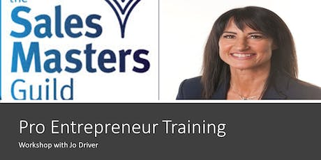 Pro Entrepreneur Training with Jo Driver tickets