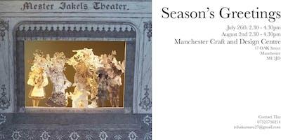 Season's Greetings craft workshop #2