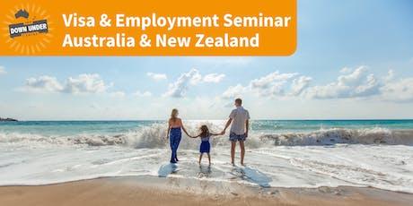 DUC Visa & Employment Seminar tickets