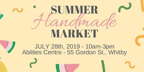 Summer Handmade Market tickets