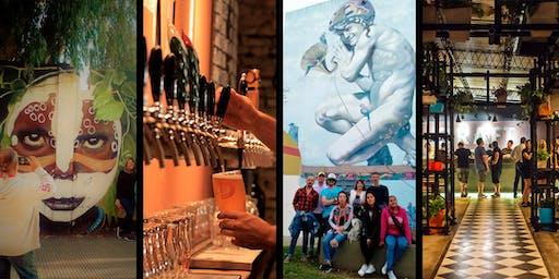 Sábado Día del Amigo: Walking Tour Coghlan + Cervecería DraftbyMyBeer