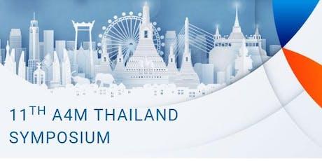 11TH A4M THAILAND SYMPOSIUM tickets