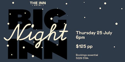 "Tastes of Central Geelong - ""Big Night Inn"""