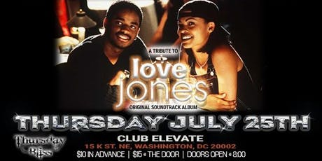Thursday Bliss Presents: A Tribute to the Love Jones Soundtrack tickets