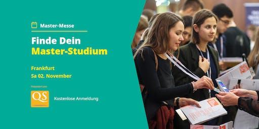 QS Master-Messe Frankfurt - Alle Infos zum Studium (Eintritt frei)