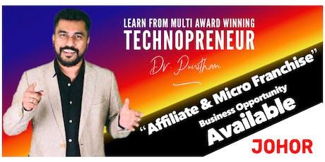 Johor eVarthagar Saathanai MeetUp [ Business Opportunity Seminar ] tickets