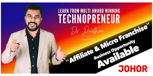 Johor eVarthagar Saathanai MeetUp [ Business Opportunity Seminar ]