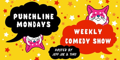 Punchline Mondays - Weekly Comedy Show tickets