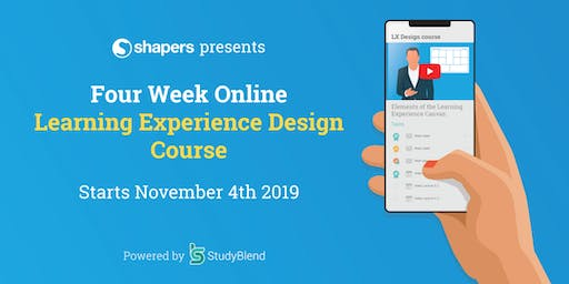 Learning Experience Design Online Course - 4 weeks