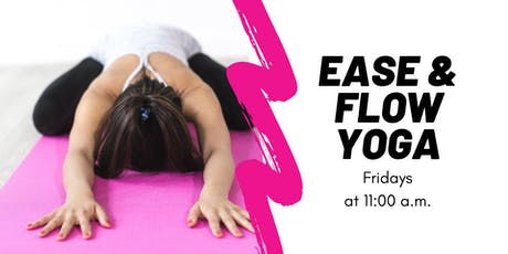 Ease & Flow Yoga Class tickets
