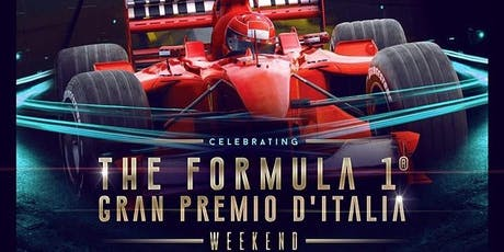 FORMULA 1 Official Party - Milano, JUSTCAVALLI - 6-8/09/19 biglietti