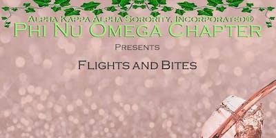 Phi Nu Omega presents: Flights and Bites