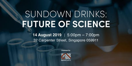Sundown Drinks: Future of Science tickets