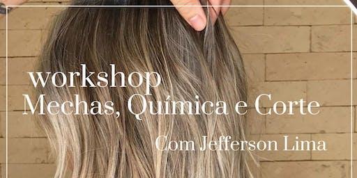 Workshop de Corte, Mechas e Química com Jefferson Lima