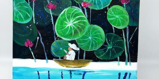 Paint & Sip:Lotus