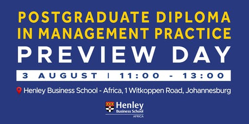 PGDip Preview Day | #HenleyAfrica