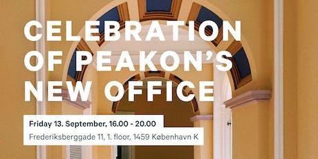 Celebration of Peakon's New Office tickets