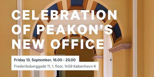 Celebration of Peakon's New Office