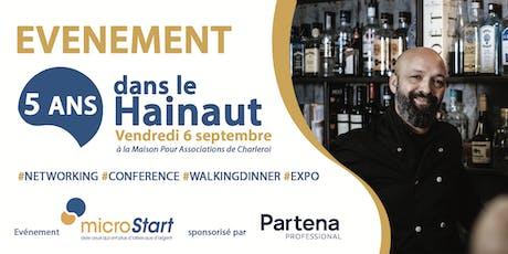 microStart: 5 années dans le Hainaut billets