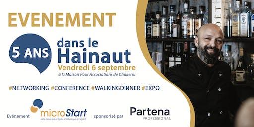 microStart: 5 années dans le Hainaut