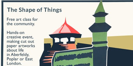 The Shape of Things: Art Class and Community Event tickets