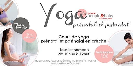 Cours de yoga en crèche - Grenoble